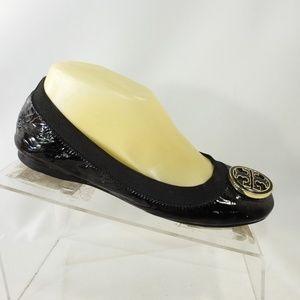 Tory Burch Reva Size 7 Flat Casual Shoes For Women